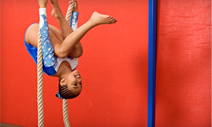 Stars & Stripes Kids Activity Center - Waterford: $18 for Two Kids' Gymnastics Classes at Stars & Stripes Kids Activity Center in Clarkston (Up to $38 Value)