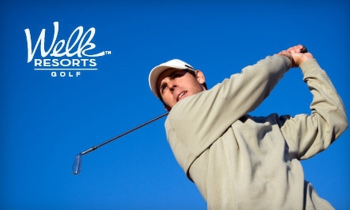 Welk Resorts San Diego Fountains Golf Course - Hidden Meadows: $58 for 18 Holes of Golf for Two, Cart, and Two Sleeves of Titleist Golf Balls at the Welk Resorts San Diego Fountains Golf Course (Up to $116 Value)
