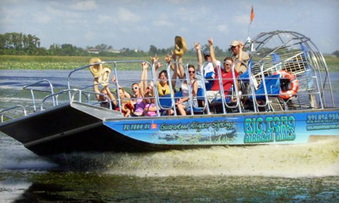 Big Toho Airboat Rides - Kenansville: $25 for a One-Hour Airboat Ride from Big Toho Airboat Rides in Kenansville (Up to $45 Value)