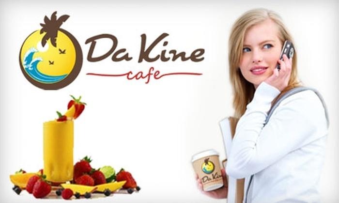 Da Kine Café - Sunnyvale: $5 for $10 Worth of Gourmet Coffee, Smoothies, Sandwiches, and More at Da Kine Café in Sunnyvale