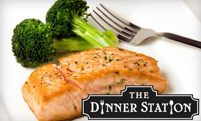 The Dinner Station - Broadmoor, Anderson Island, Shreve Isle: $15 for $30 Worth of Meal Assembly at The Dinner Station
