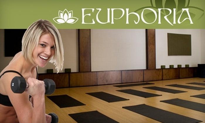 Euphoria Wellness Studio - Bentley College: $20 for Five Group-Exercise Classes at Euphoria Wellness Studio ($60 value)