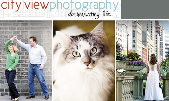 City View Photography - Chicago: $85 Photo Sitting and $100 Print Credit at City View Photography ($285 Value)
