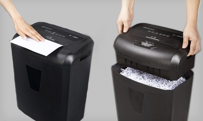 Comet Eight-Sheet Crosscut Shredder: $45 for a Comet Eight-Sheet Crosscut Paper Shredder ($89.99 List Price). Free Shipping and Free Returns.