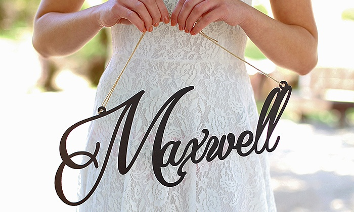 Morgan Hill Designs: Personalized Housewares at Morgann Hill Designs (Up to 55% Off)