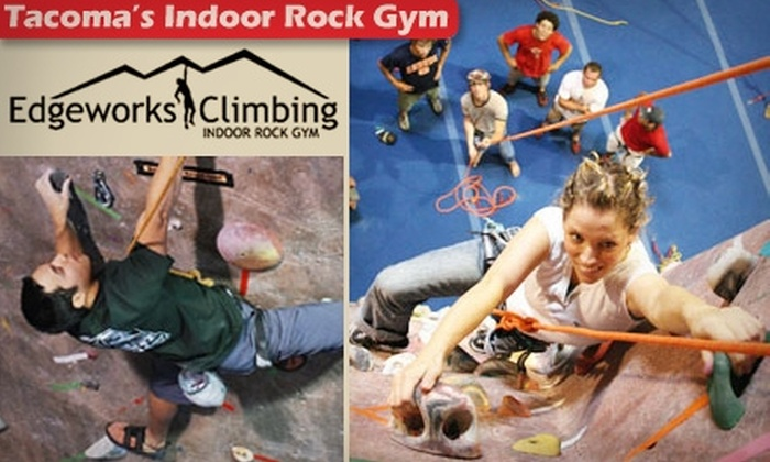 Edgeworks Climbing - West End: $12 for an All-Day Climbing Pass Plus Full Equipment Rental at Edgeworks Climbing