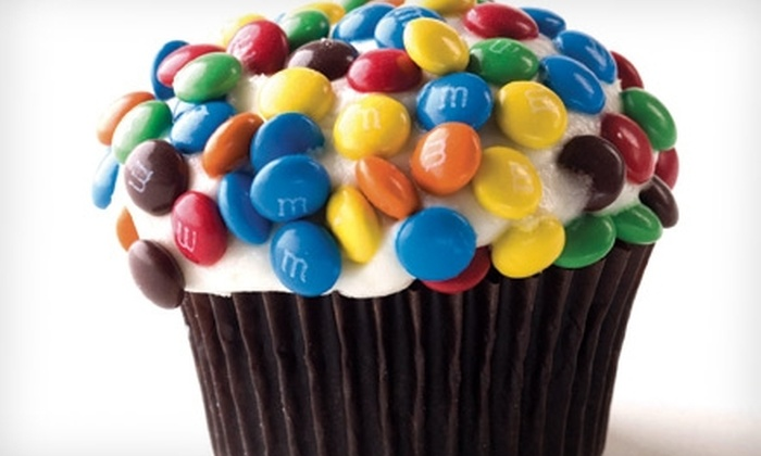 Just Cupcakes - Multiple Locations: $6 for $12 Worth of Handmade Cupcakes at Just Cupcakes