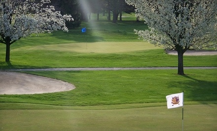 Maple Creek Golf and Country Club: 4 Rounds of Golf and 4 Large Buckets of Range Balls - Maple Creek Golf and Country Club in Indianapolis