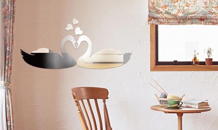 Spiegel Stickers Kopen : Muurdecoratie spiegelstickers groupon goods