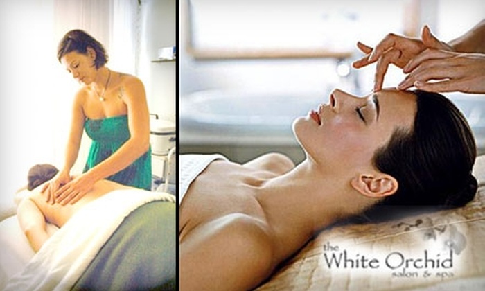 The White Orchid Salon & Spa - Midtown: $65 for a One-Hour Swedish Massage and European Facial at The White Orchid Salon & Spa