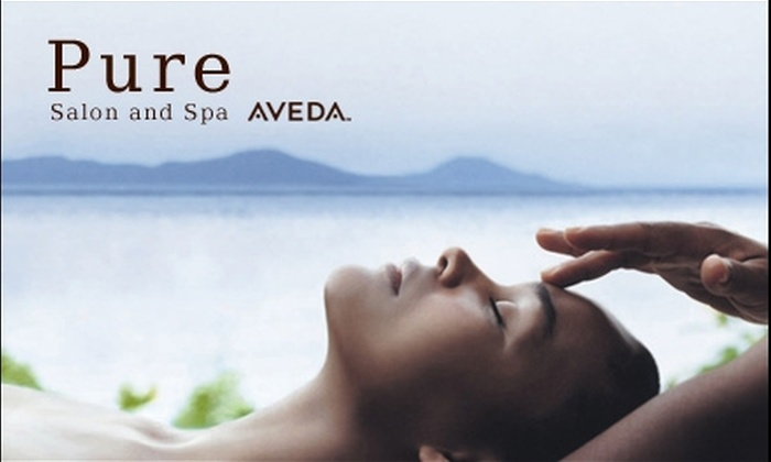 Pure Aveda Salon and Spa - Multiple Locations: $79 for a Spa Package at Pure Salon and Spa in Dracut ($165 Value)