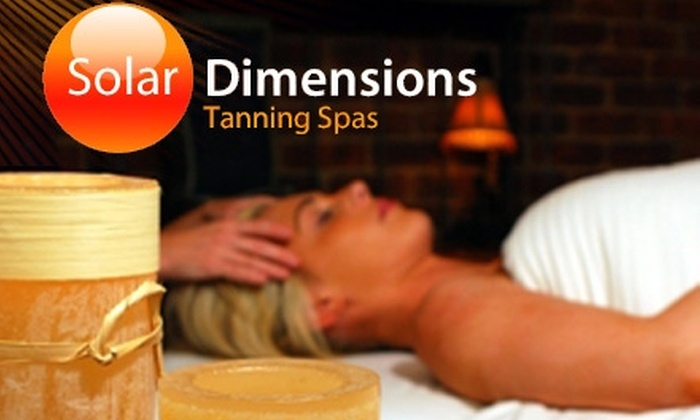 Solar Dimensions - Multiple Locations: $29 for a Formostar Body Wrap at Solar Dimensions ($99 Value)