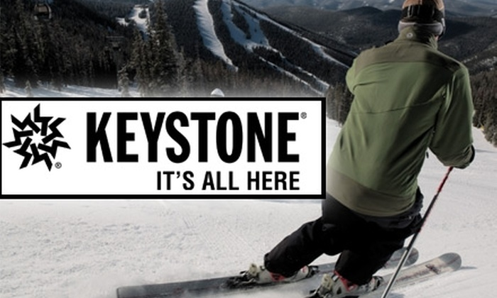 Vail Resorts - Breckenridge: $45 for a One-Day Lift Ticket to Keystone Resort