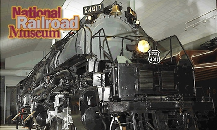 National Railroad Museum - Ashwaubenon: $25 for a One-Year Family Membership to the National Railroad Museum
