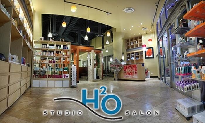 Studio H20 Salon - Rio Grande: $25 for a Haircut at Studio H2O Salon (Up to $70 Value)