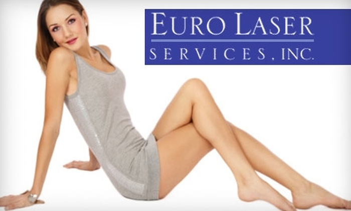 Euro Laser Services - Rye: $150 for Three Laser Hair-Removal Treatments at Euro Laser Services