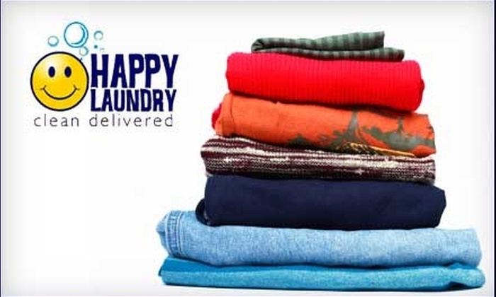 Happy Laundry and Dry Cleaning - Spokane / Coeur d'Alene: $18 for $38 Worth of Dry Cleaning and Laundry Services from Happy Laundry and Dry Cleaning