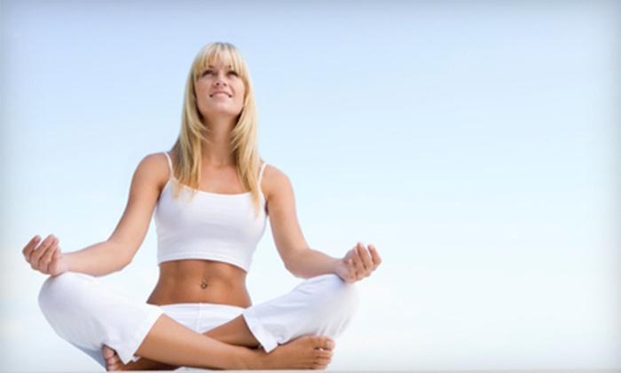 Sabeena Yoga - Cypress Glen: Private Yoga Instruction or Unlimited Yoga Classes at Sabeena Yoga