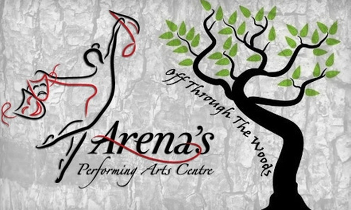 "Arena's Performing Arts Centre - Ambridge: $7 Ticket to ""Off Through the Woods,"" a Children's Summer Musical by Arena's Performing Arts Centre ($12 Value). Two Performance Times Available."