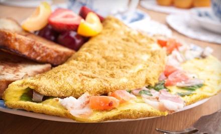 $20 Groupon to Sawyers Gourmet Pancake House - Sawyers Gourmet Pancake House in Lansing