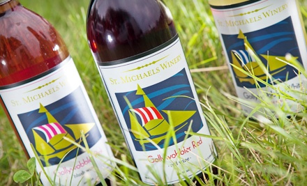 Wine-Tasting Package for Two People (a $44 Value)  - St. Michaels Winery in St. Michaels