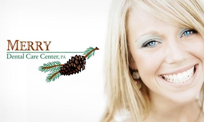 Merry Dental Care Center - Eden Prairie: $169 for Teeth Whitening at Merry Dental Care Center in Eden Prarie ($470 Value)