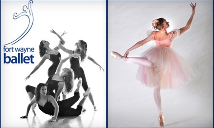 """<i>Celebrations!</i> - Downtown Fort Wayne: $8 for One Ticket to """"Celebrations!"""" at Fort Wayne Ballet ($17.50 Value). Two Dates Available."""