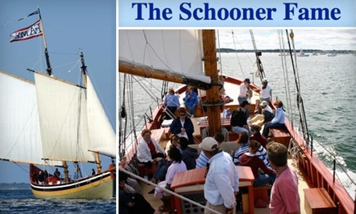 """The Schooner """"Fame"""" - Salem: $15 for an Adult Ticket for a Cruise on the Schooner """"Fame"""" in Salem ($25 Value)"""