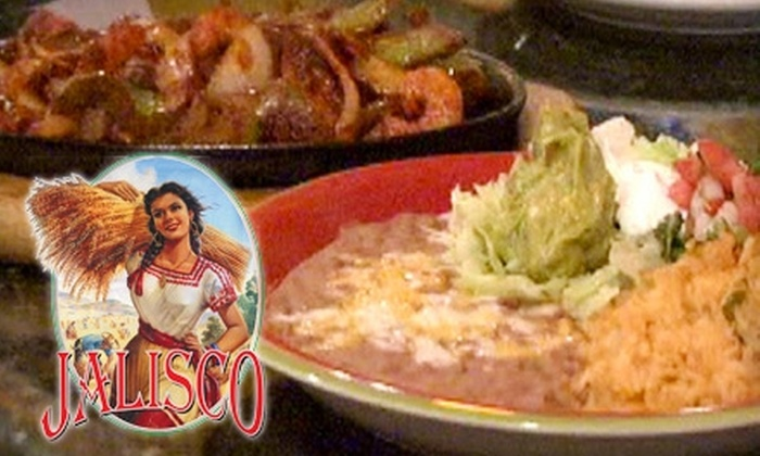 Jalisco Restaurant - Glastonbury: $10 for $20 Worth of Mexican Fare and Drinks at Jalisco Restaurant in Glastonbury