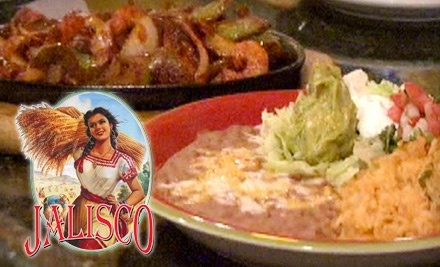$20 Groupon to Jalisco Restaurant - Jalisco Restaurant in Glastonbury