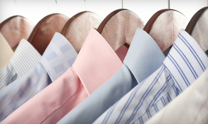 Quality Dry Cleaners - Multiple Locations: $15 for $35 Worth of Dry Cleaning or $110 for Wedding Gown Cleaning and Preservation at Quality Dry Cleaners