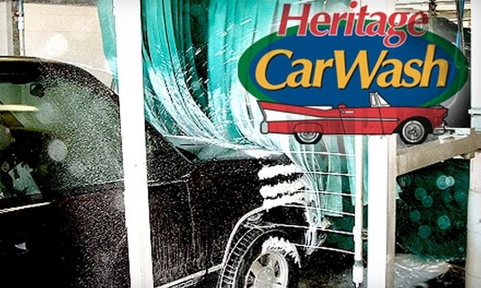 Heritage Car Wash Bedford - Bedford: $9 for a Silver Full-Service Car Wash at Heritage Car Wash