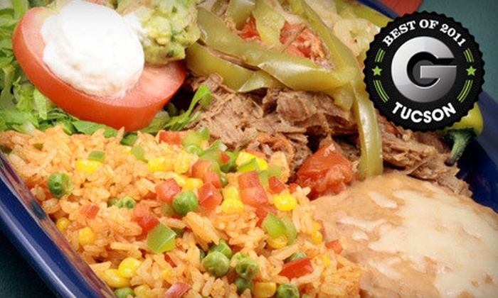 El Saguarito - Campus Farm: $26 for a Mexican Meal for Two with Margaritas at El Saguarito (Up to $54.50 Value)