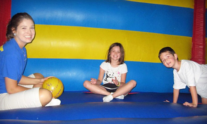 Pump It Up - Greenville: Four or Eight Drop-In Bounce-House Visits to Pump It Up (Up to 67% Off)