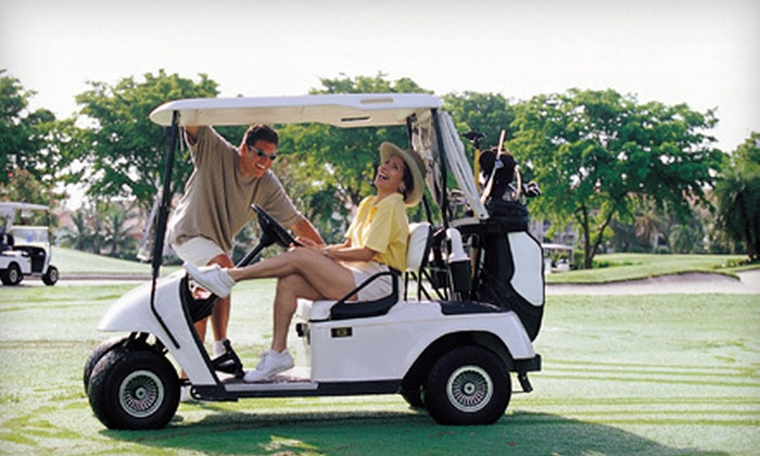 Myerlee Country Club - Cypress Lake: $39 for an 18-Hole Round of Golf with Cart Rental for Two at Meyerlee Country Club (Up to $98 Value)