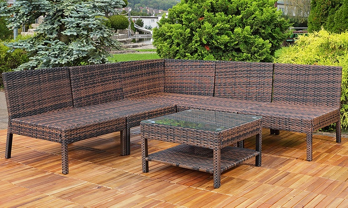 polyrattan gartenm bel groupon goods. Black Bedroom Furniture Sets. Home Design Ideas