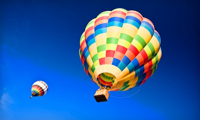 High Desert Balloon Company - Collister: Hot Air Balloon Ride for One or Two at High Desert Balloon Company (Up to 54% Off)