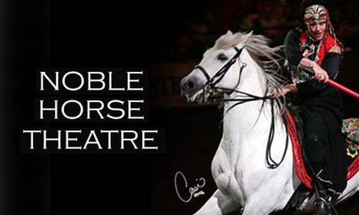 "Noble Horse Theatre - Near North Side: $12 for One Adult Ticket to See ""Quadrille: The Mystique of the Horse"" at Noble Horse Theatre ($25 Value) or $9 for a Child's Ticket ($18 Value)"
