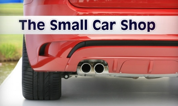 The Small Car Shop - Roosevelt: $29 for a Standard Oil Change, Tire Rotation, and 22-Point Inspection ($95 Value) at The Small Car Shop