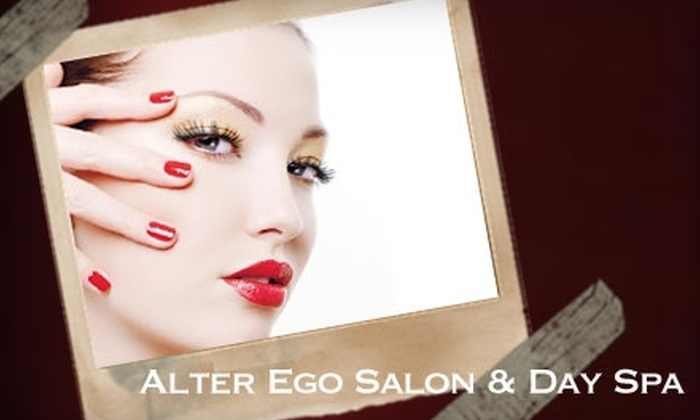 Alter Ego Salon & Day Spa - Charlotte: $25 for a Mani-Pedi ($58 Value) or $29 for $60 Worth of Hair Services at Alter Ego Salon & Day Spa