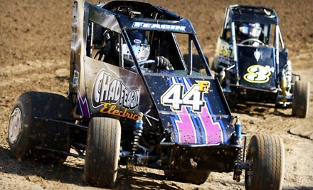 Evening at the Races at Port City Raceway for 1 Adult and 1 Child Plus Refreshments: General Admission - Port City Raceway in Tulsa