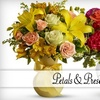 Half Off Flowers at Petals & Presents