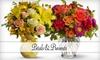 Half Off Flowers at Petals & Presents