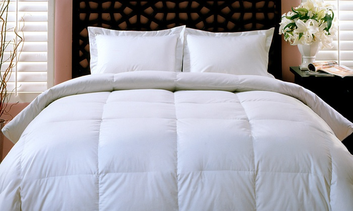 Club Le Med Down-Alternative Comforter 100% Cotton: $39.99 for a Club Le Med Down-Alternative Comforter ($119.99 List Price). Three Sizes. Free Shipping and Free Returns.