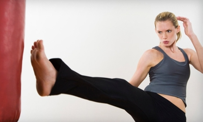 United Martial Sciences - Downtown: $17 for Unlimited Cardio-Kickboxing Classes ($35 Value) or $30 for Unlimited Brazilian Jiu-Jitsu Classes ($85 Value) at United Martial Sciences