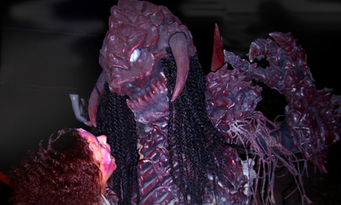 Alien Extreme - Evergreen: Admission for One, Two, or Four to Alien Extreme Halloween Experience in San Jose