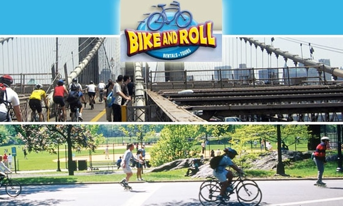 Bike and Roll NYC - New York City: $19 for Full-Day Comfort Bike Rental ($39 Value)