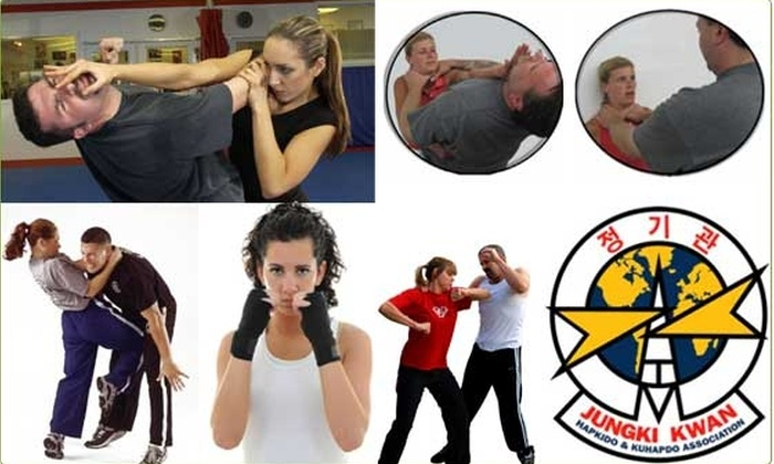 Jungki Kwan Midwest International Hapkido USA - Wicker Park: $49 Six Women's Self-Defense Lessons (66% Off $149 Value)