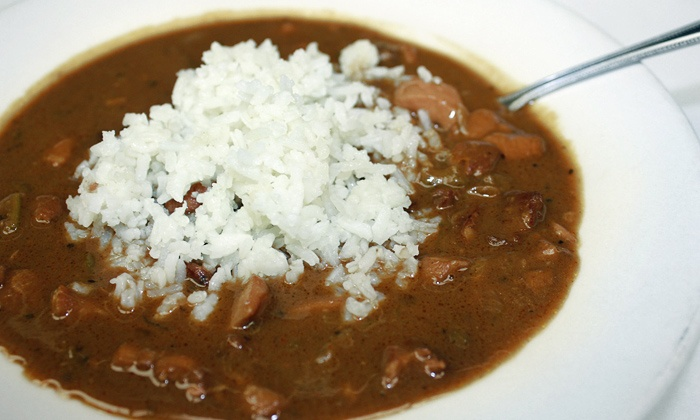 BB's Cafe - Multiple Locations: $15 for Two Bowls of Gumbo and Two Soft Drinks at BB's Cafe ($21.30 Value)
