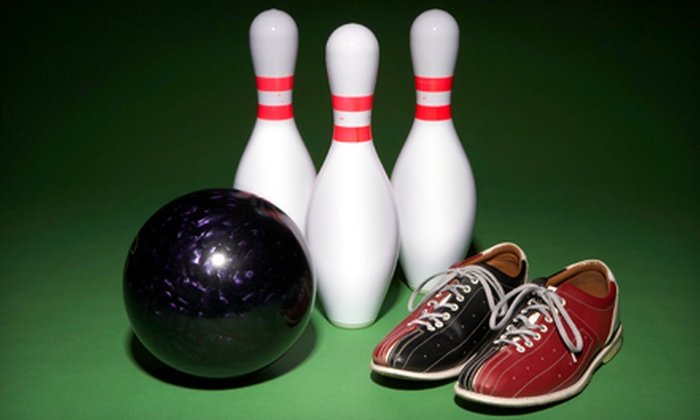 Manatee Lanes - Crystal River: Bowling with Pizza for 6 or 12 at Manatee Lanes (Up to 58% Off)